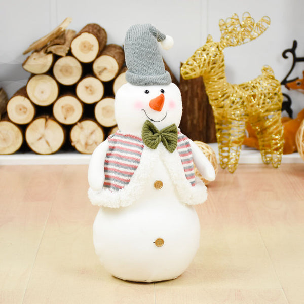 Standing Natal Figurine christmas tree decorations New Year Decoration Santa Claus/Snowman Elk adornos de navidad Kids Gift