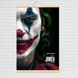 Movie Joker Canvas Poster Joker Origin Movie Art Prints Comics