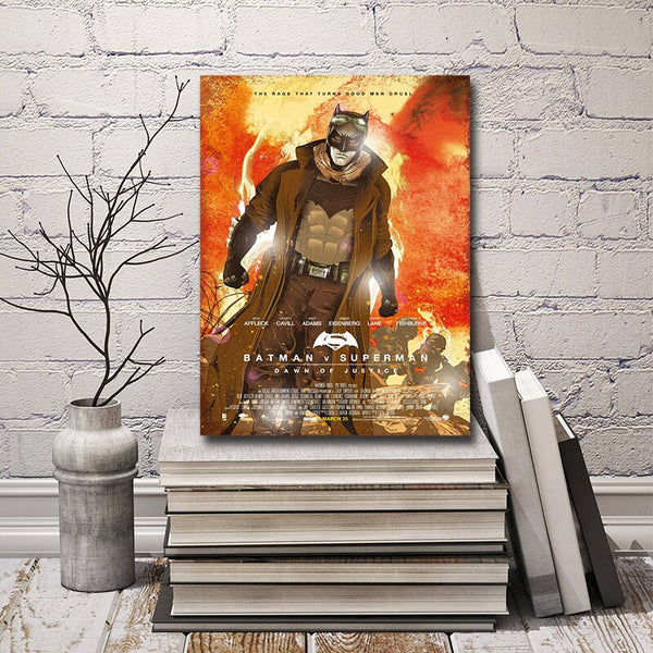 Marvel Batman Superman Classic Canvas Prints Picture Modular Paintings For Living Room Poster On The Wall Home Decoration