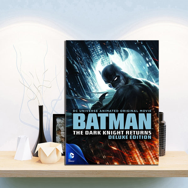Batman The Dark Knight Cartoon Potter Art Canvas Poster Print Wall Picture Modern Home Room Wall  Boy Children Bedroom Decor
