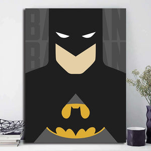 Batman Cartoon Anime Oil painting Canvas Print Poster Wall Art HD Picture For Kid Living Room Bedroom Home Decoration