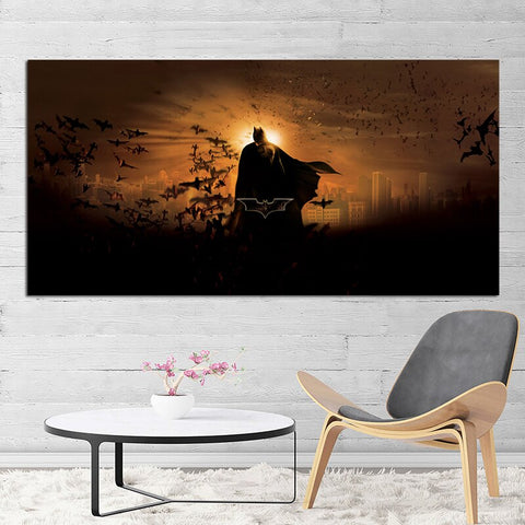 Batman Dark Knight Superhero Marvel Canvas Prints Picture Modular Paintings for Living Room Poster on The Wall Home Decoration
