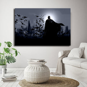 Wallpapers Batman Nordic Poster Marvel Avengers Comics Paintings on Canvas Modern Art Decorative Wall Pictures Home Decoration