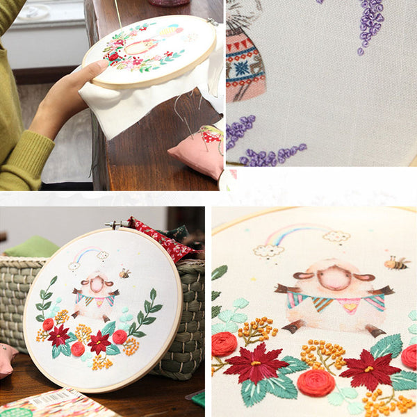 Animal Embroidery Materials Package DIY Handmade Accessories