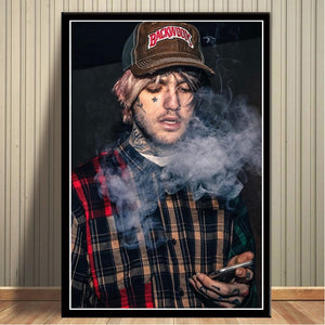 Wall Art Modular Hd Printed Pictures Nordic Style Poster Rapper Lil Peep Painting Modern Canvas For Living Room Home Decoration