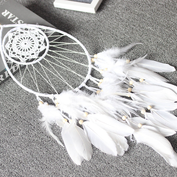 nordic white water dream catcher room  decoration wedding decoration home party decoration gift for girl women