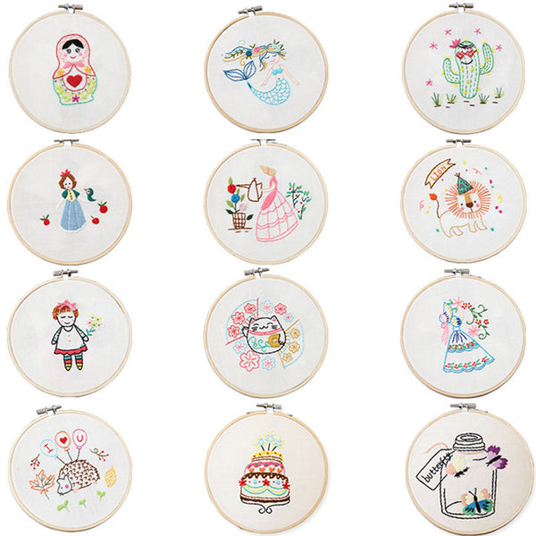 Embroidered Material Practical Embroidery Material Package Handmade Kit Cross-Stitch