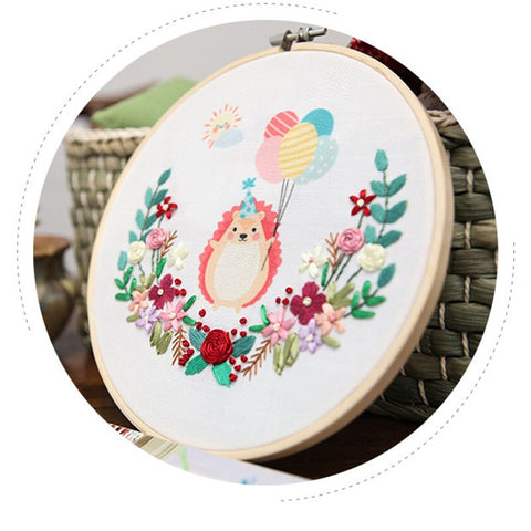 Animal DIY Handmade Kit Craft Embroidered Accessories Embroidery Materials