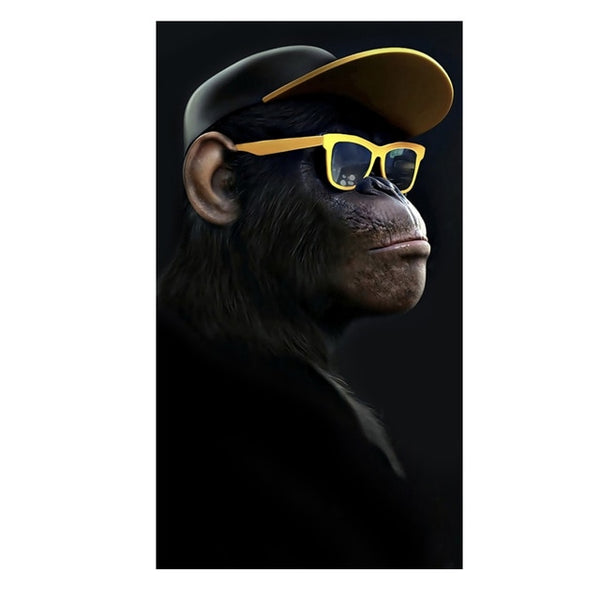 Music Monkey Art Canvas Prints and Posters Apes Art