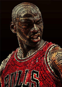 Michael Jordan Art Film Print Silk Poster Home Wall DecoR