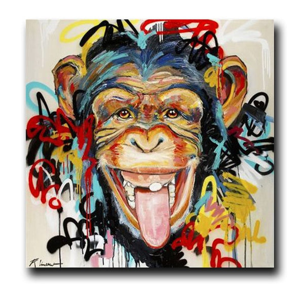 Gorilla artwork Canvas Painting Posters and Prints