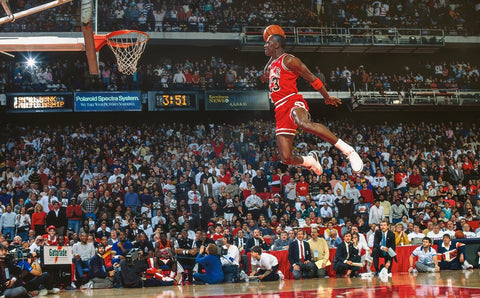 Jordan Classic Dunk Action Poster Home Decoration Sports Star Poster Wall Pictures