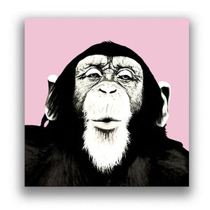 Laughing Monkey Gorilla Artwork For Home Animal Posters And Prints