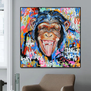 Funny Monkey Pop Art Posters And Prints