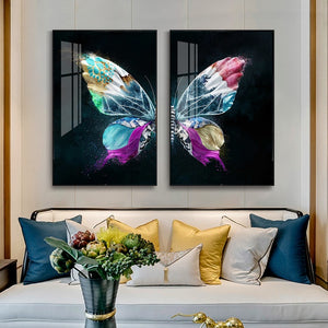 Butterfly Art Posters Prints Butterfly Canvas Painting