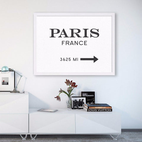 Nordic Poster Paris Posters And Prints Wall Art Canvas Painting Wall Art Print Wall Pictures For Living Room No Poster Frame