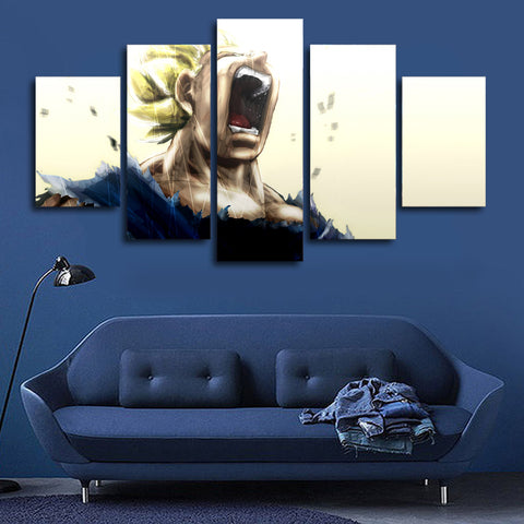 5 Panels Cartoon Dragon Ball Wall Art Picture Modern Home Decoration Living Room Or Bedroom Canvas Print Painting Wall Picture