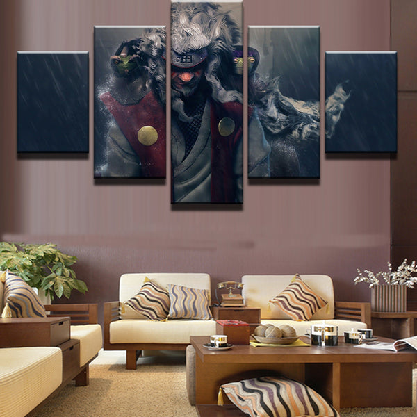 5 Panel Naruto Cartoon Characters Modern Home Wall Decoration Canvas Photograph Art HD Print Painting Canvas Art Modular Picture