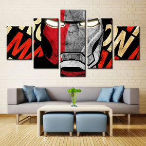 5 Pieces Movie Game Characters Painting Canvas Wall Art Modular Picture Home Decor Living Room Canvas Printed Modern Painting