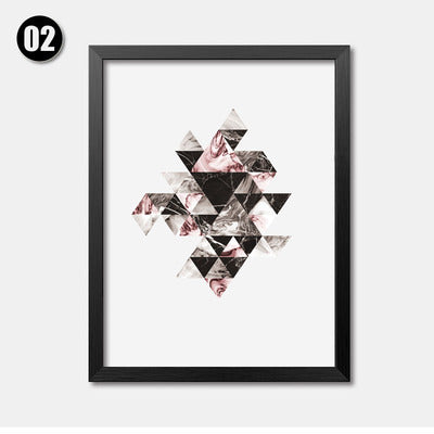 Wall Pictures For Living Room Milky Cuadros Nordic Decoration Posters And Prints Wall Art Canvas Painting Art No Poster Frame