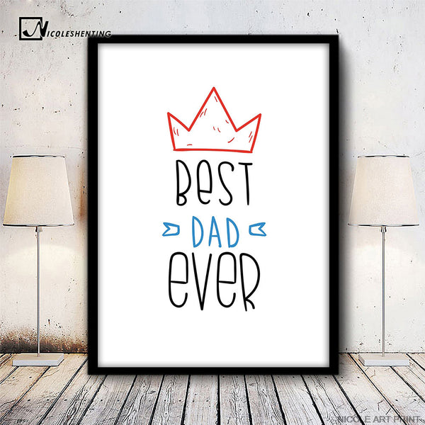 NICOLESHENTING Kids Motivational Quote Poster Prints Minimalist Wall Art Canvas Painting Picture  Nordic Decoration Home Decor