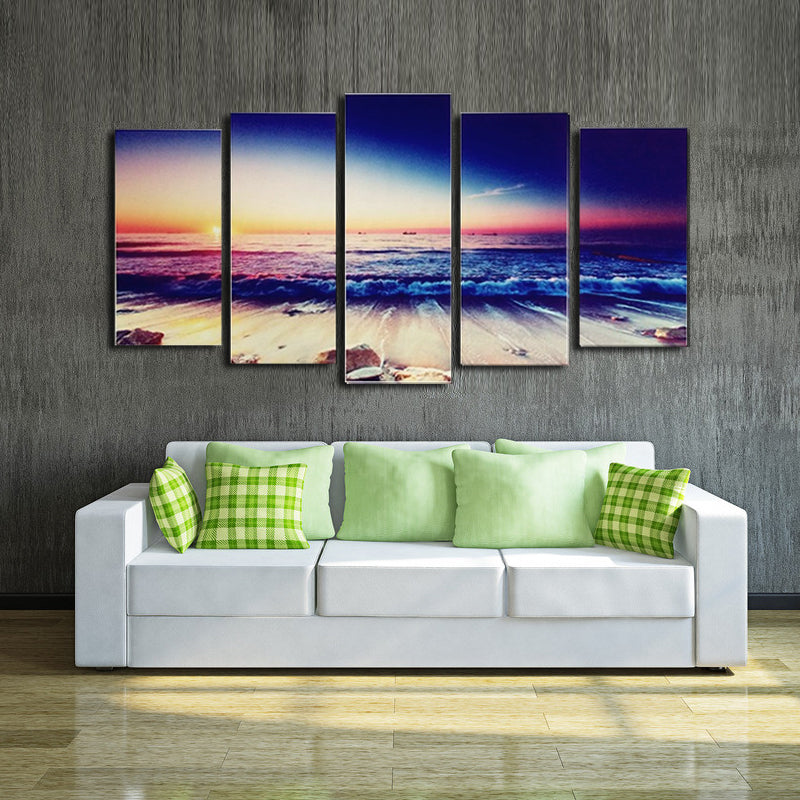 HD Modern Landscape Wall Art Canvas Modular pictures Panel Print Painting Decorative Sunset Seascape Home Decor For Living Room