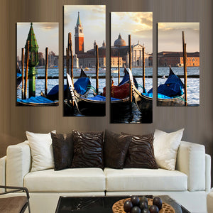 4 Panel Modern Painting Home European Flavour  Decorative Art Picture Paint on Canvas Prints picture Unframed  F1851