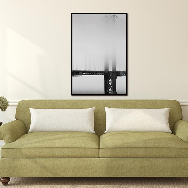 Bridge Landscape Nordic Abstract Wall Pictures Living Room Art Decoration Pictures Scandinavian Canvas Painting Prints No Frame