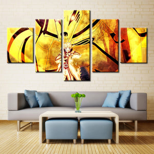5 Panel Naruto Modular Picture Wall Art Picture Modern Home Decoration Living Room Or Bedroom Canvas Print Painting Wall Picture