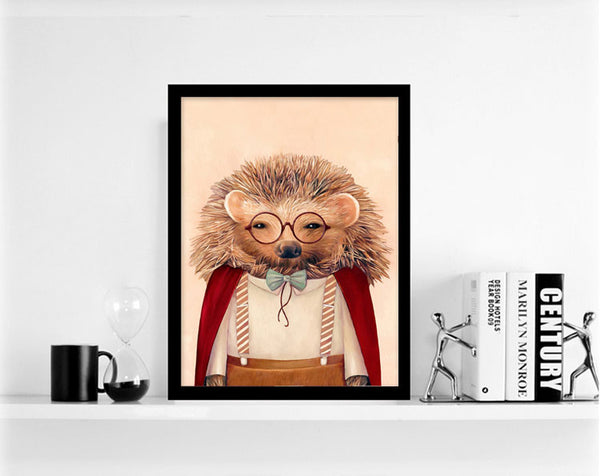 Nordic Poster Canvas Painting Animal Panda Print  Modern Cartoon Nursery Wall Art Picture Kids Baby Room Decor