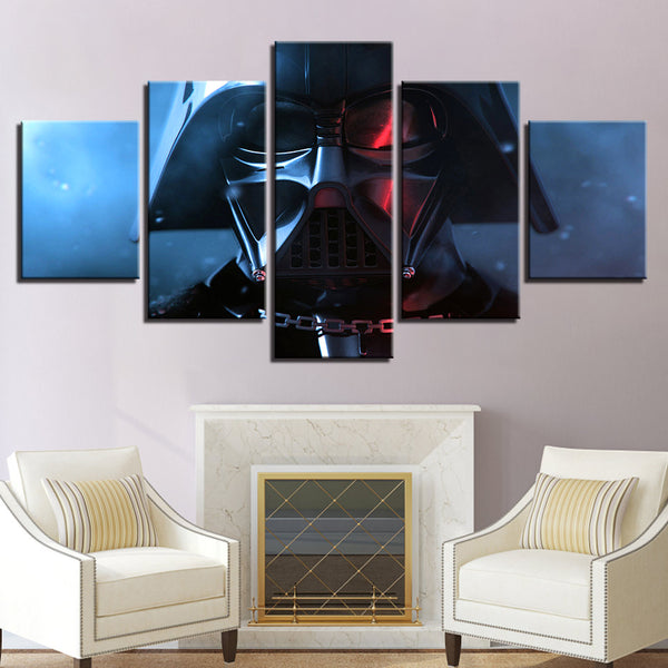 Modular Canvas HD Prints Poster For Living Room Wall Art Movie Pictures 5 Pieces Star Wars Paintings Modern Home Decor Framework