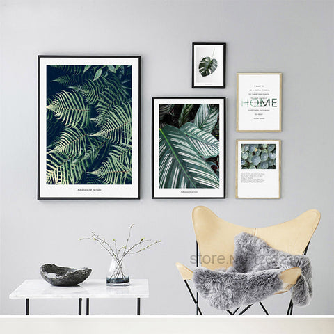 Turtle Leaf Coffin Grass Letter Posters And Prints Nordic Poster Wall Picture Canvas Art Wall Pictures For Living Room Unframed