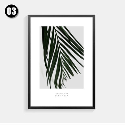 Cactus Cuadros Decoracion Nordic Poster Paintings Picture Posters And Prints Leaves Wall Art Canvas Painting Plants  Unframed