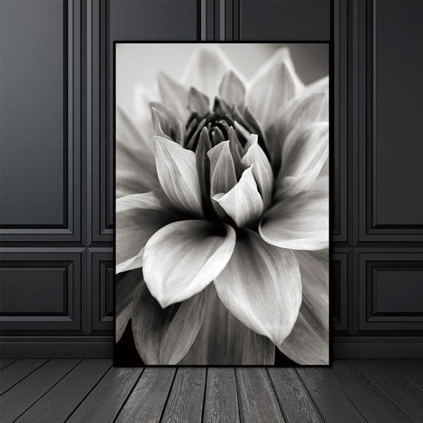 Nordic Abstract Flower In Blossom Wall Pictures Living Room Art Decoration Pictures Scandinavian Canvas Painting Prints No Frame