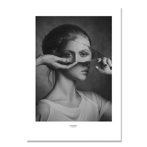 Ballet Girl Dancing Nordic Poster Wall Art Canvas Painting Picture Posters And Prints Wall Pictures For Living Room Unframed