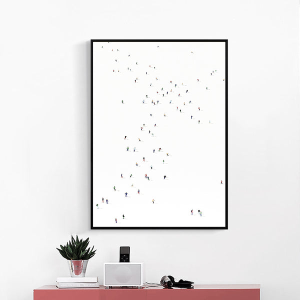 Modern Minimalist Creative Abstract Color Sketches Canvas Painting Art Print Poster Picture Wall Bedroom Living Room Decoration