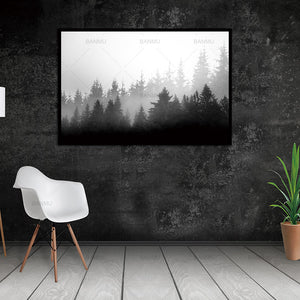 Art Wall Picture Canvas  Painting  Print stone and  trees on painting Decoration For Living Room wall  picture Cuadros no frame