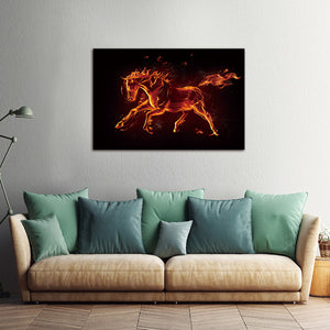 Modern print Canvas painting Animal horse decoration for living roomWall art Picture home decor Wall art print