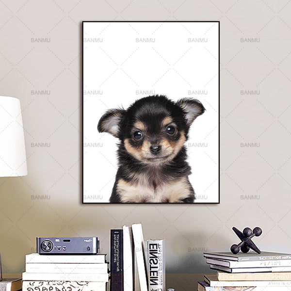 picture Canvas painting prints cute animals Wall Art Picture print on canvas home decor Wall poster decoration for living room