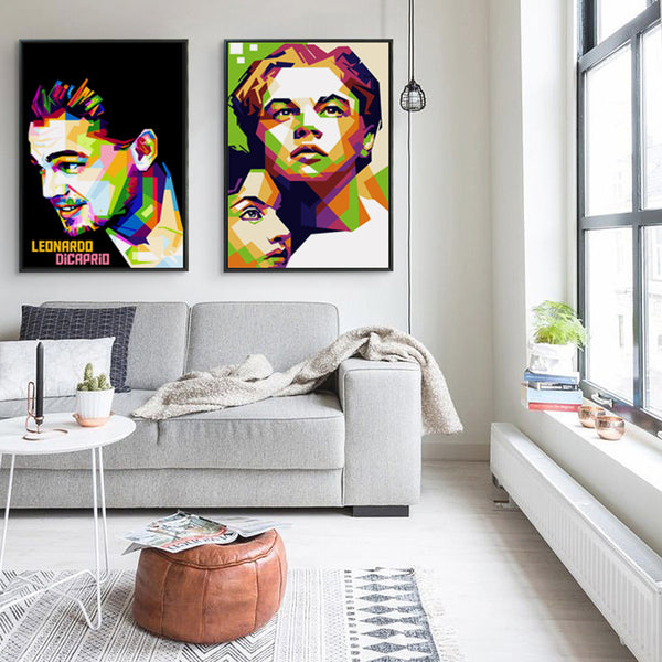Elegant Poetry Titanic Film Jack And Rose Great And Sweet Love Story Art Portrait Canvas Painting Print Image Poster Wall Decor