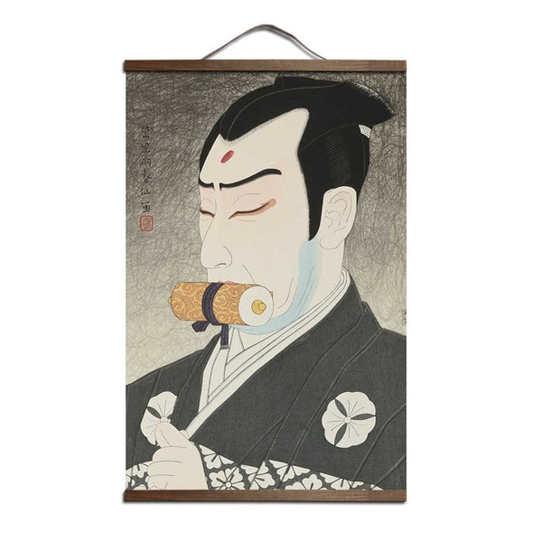 Japanese Ukiyoe for canvas painting posters and prints decoration wall art home decor with solid wood hanging scroll