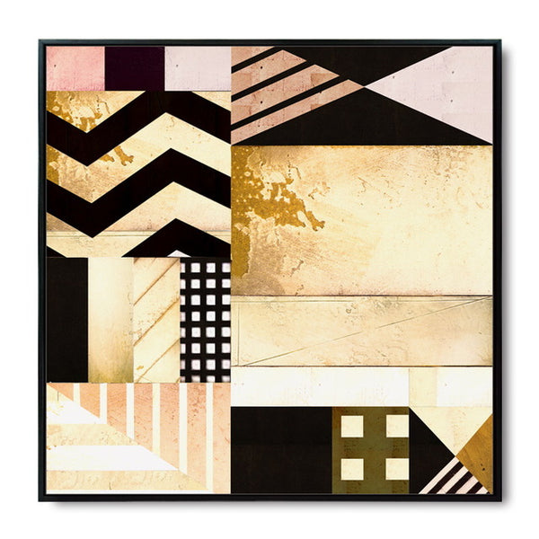 Geometric Pattern Abstract Modern Art Canvas Painting Art Print Poster Picture Mural Bedroom Living Room Decoration