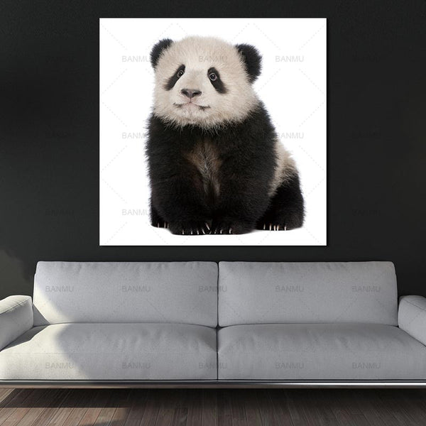 wall art painting canvas picture panda Animal Art picture Canvas Painting Prints Home Decoration print for baby room painting