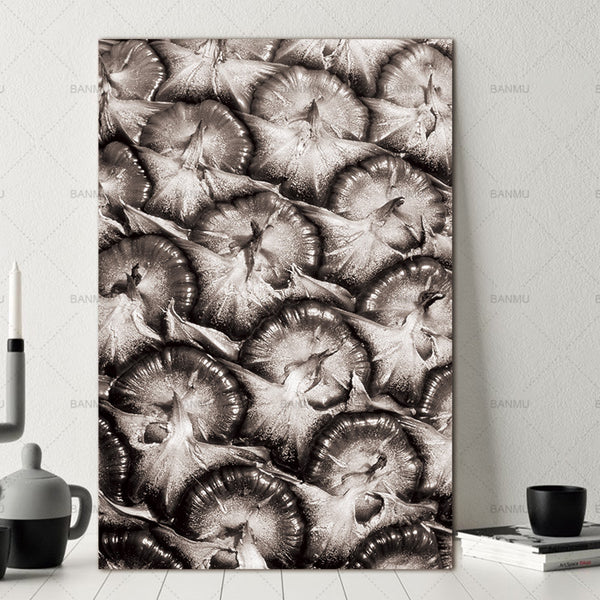 Nordic Abstract pineapple Fruit Wall Pictures Living Room Art Decoration Pictures Scandinavian Canvas Painting Prints No Frame
