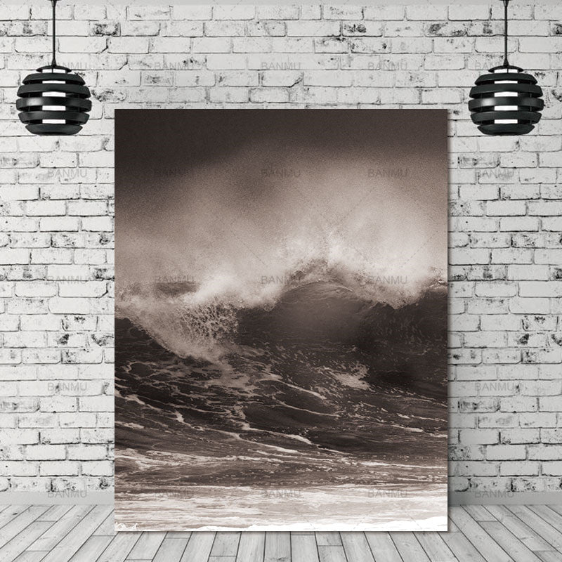 Wall Picture Living Room Art Decoration Pictures Canvas Painting Prints No Frame Wave Scandinavian landscape Nordic Abstract