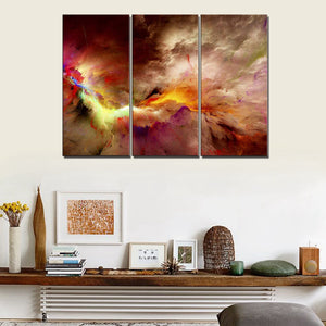 Excellent Color Abstract Wall Art Canvas Painting For Living Room Wall Home Interior And Landscaping Staixmapetitesourisinfo