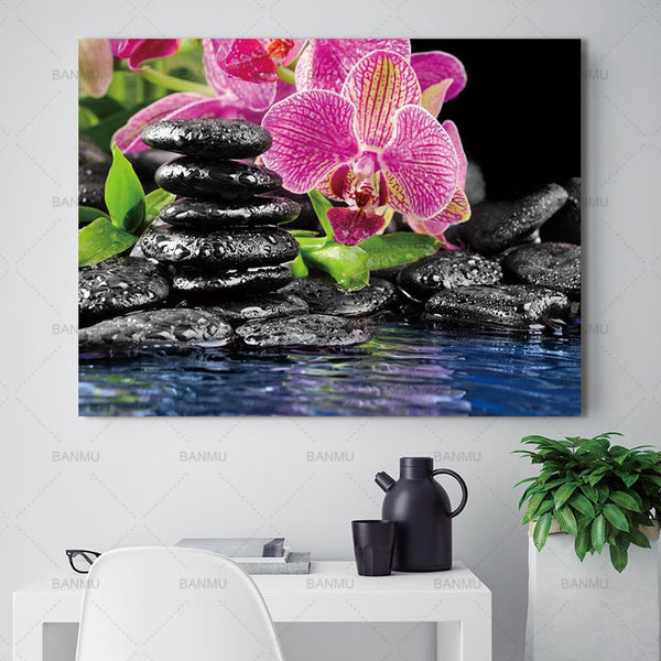 wall art painting Print canvas painting flower Wall Art Pictures poster print on canvas no frame Wall decoration for living room