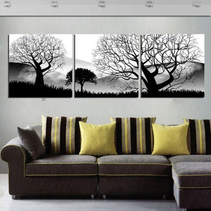 3 Panels Modern Canvas Prints Artwork Landscape Pictures Decor Modular HiXWA Quality Pictures HD Print Painting