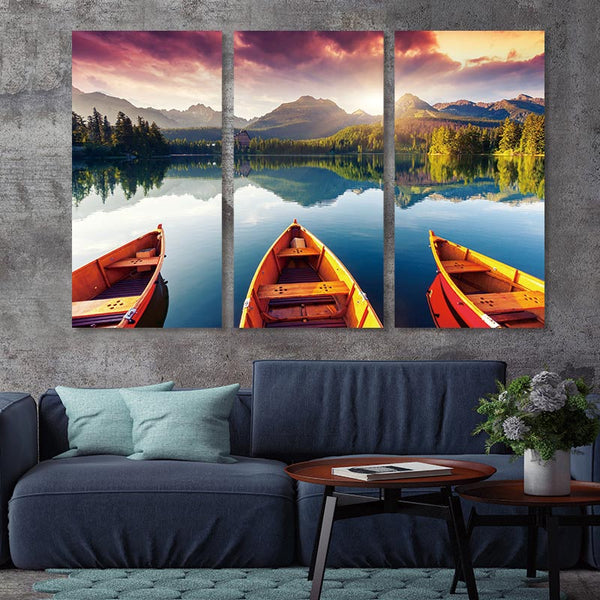 wall art Picture canvas painting landscape Beautiful scenery posters and prints home decoration painting art canvas no frame