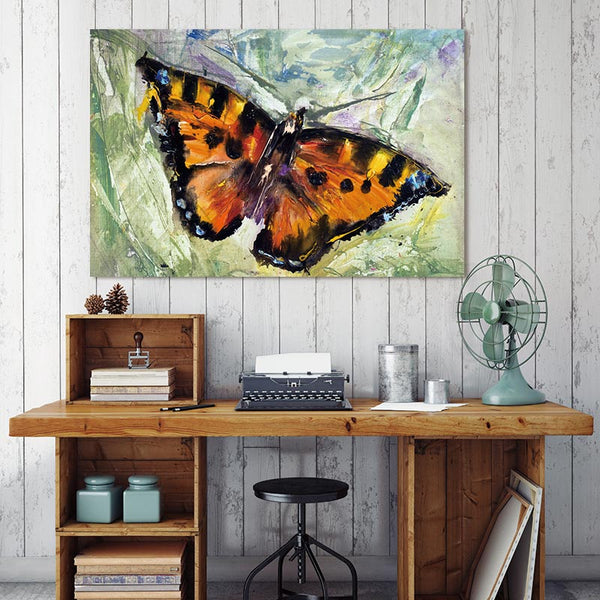 Poster art Canvas Painting Art wall picture abstract  ptints and posters Beautiful butterfly decor prints on canvas painting